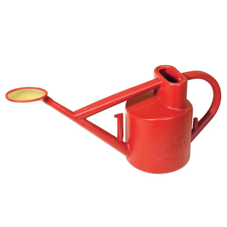 Bosmere 1.6-Gallon Red Plastic Practican Watering Can
