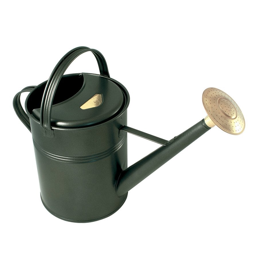 Bosmere 2.3-Gallon Dark Green Metal Traditional Watering Can