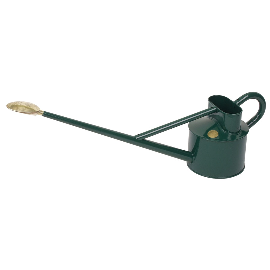 Bosmere 1.18-Gallon Dark Green Metal Professional Watering Can