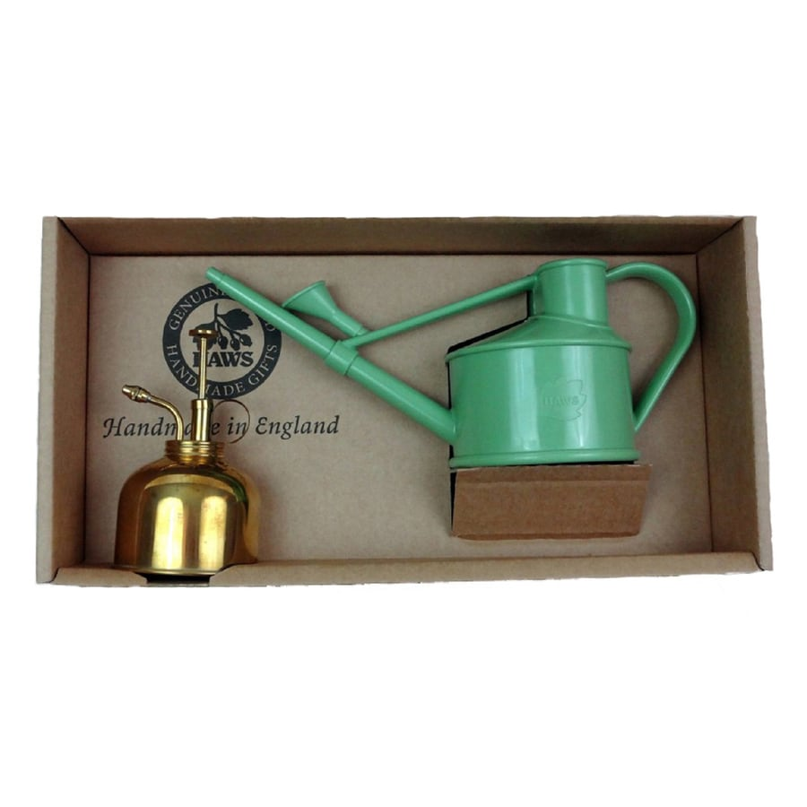 Bosmere Spray and Sprinkle 0.13-Gallon Green Plastic Watering Can