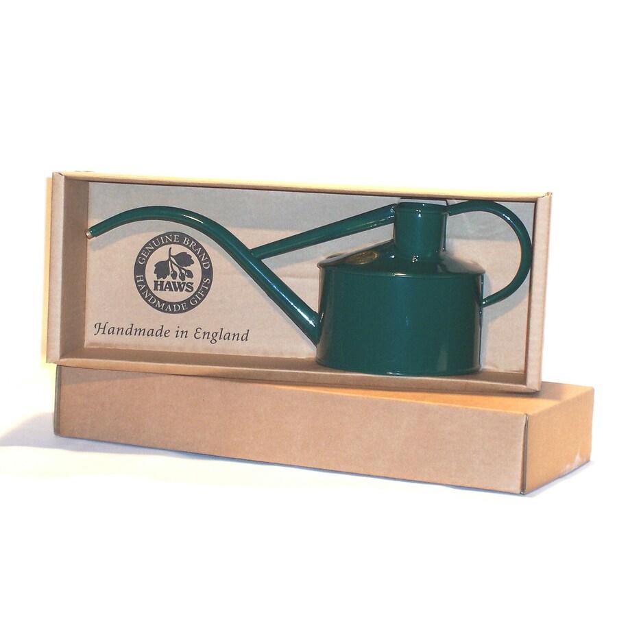 Bosmere Indoor Pot 0.26-Gallon Dark Green Metal Watering Can