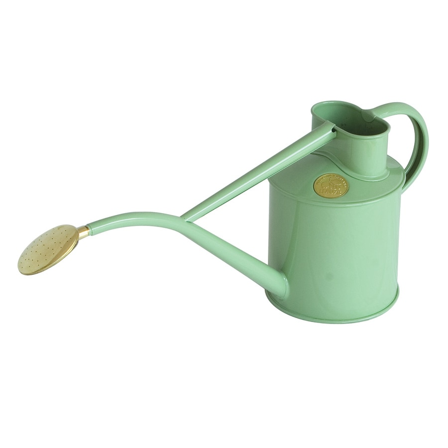 Bosmere Indoor Pot 0.26-Gallon Sage Metal Watering Can