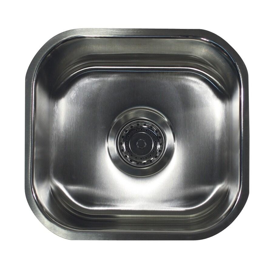 Nantucket 18-Gauge Single-Basin Undermount Stainless Steel Kitchen Sink
