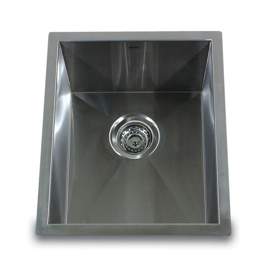 Nantucket 16-Gauge Single-Basin Undermount Stainless Steel Bar Sink