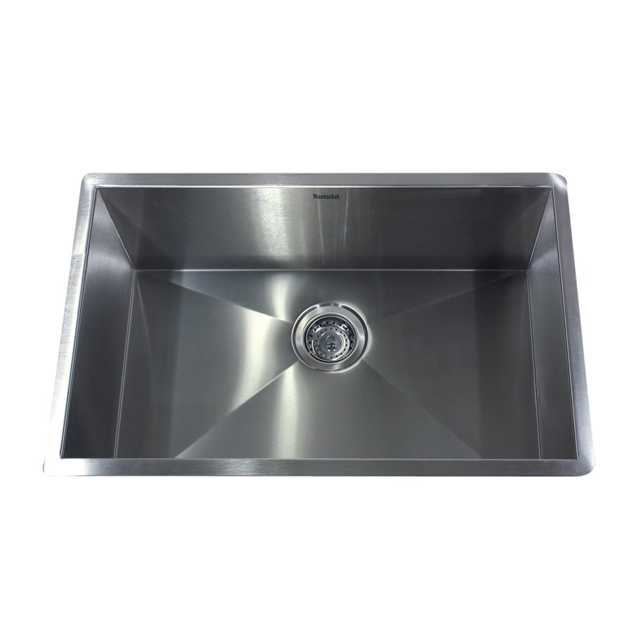 Nantucket 28 In X 16 Satin Single Basin Stainless Steel Drop