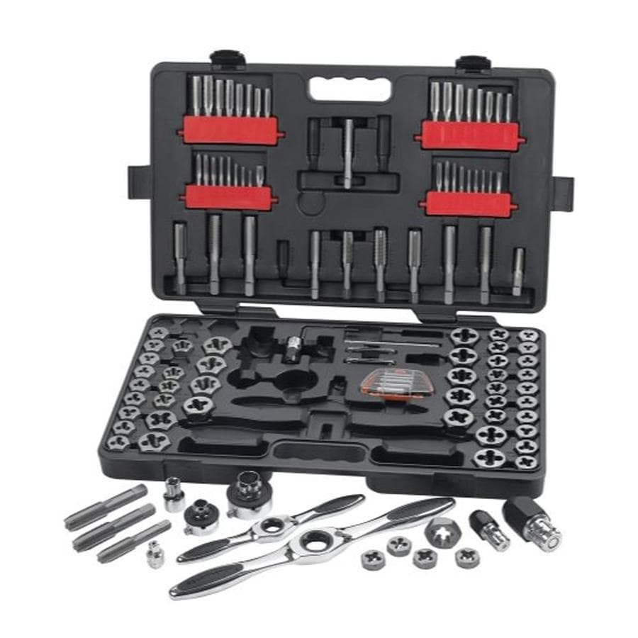 KD Tools 114-Piece Metric and SAE Tap and Die Set