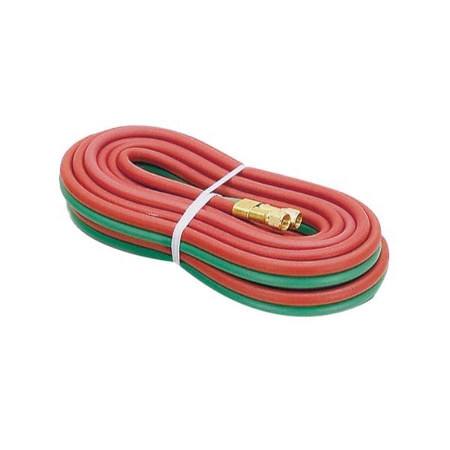 Firepower Dual Oxygen Acetylene Welding Red/Green R-Grade Rubber Hose