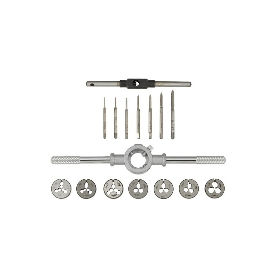 Gyros 16-Piece SAE Tap and Die Set
