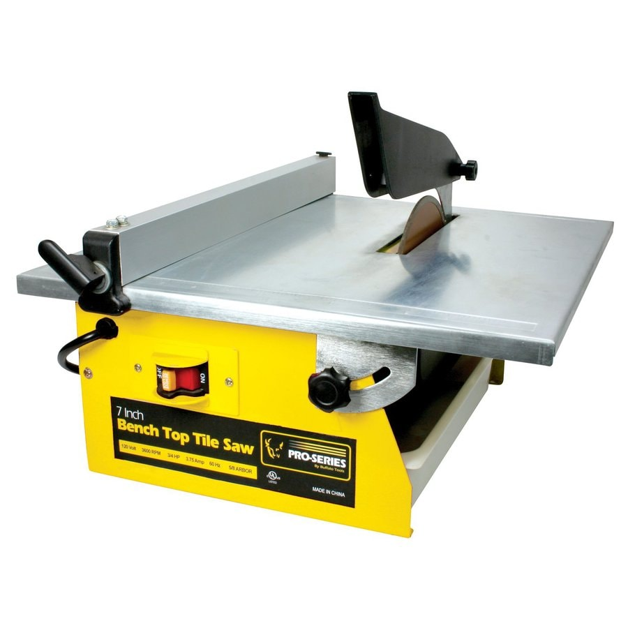 Buffalo Tools 7-in .75-HP Wet Tile Saw