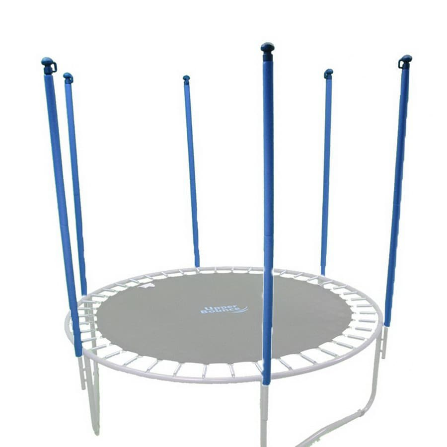 Upper Bounce Blue Trampoline Safety Enclosure Poles At