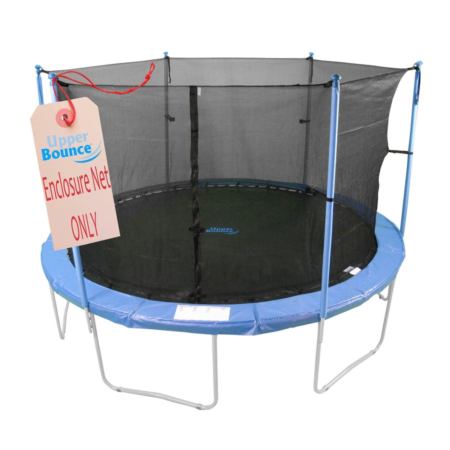 Upper Bounce Black Trampoline Safety Enclosure At Lowes.com