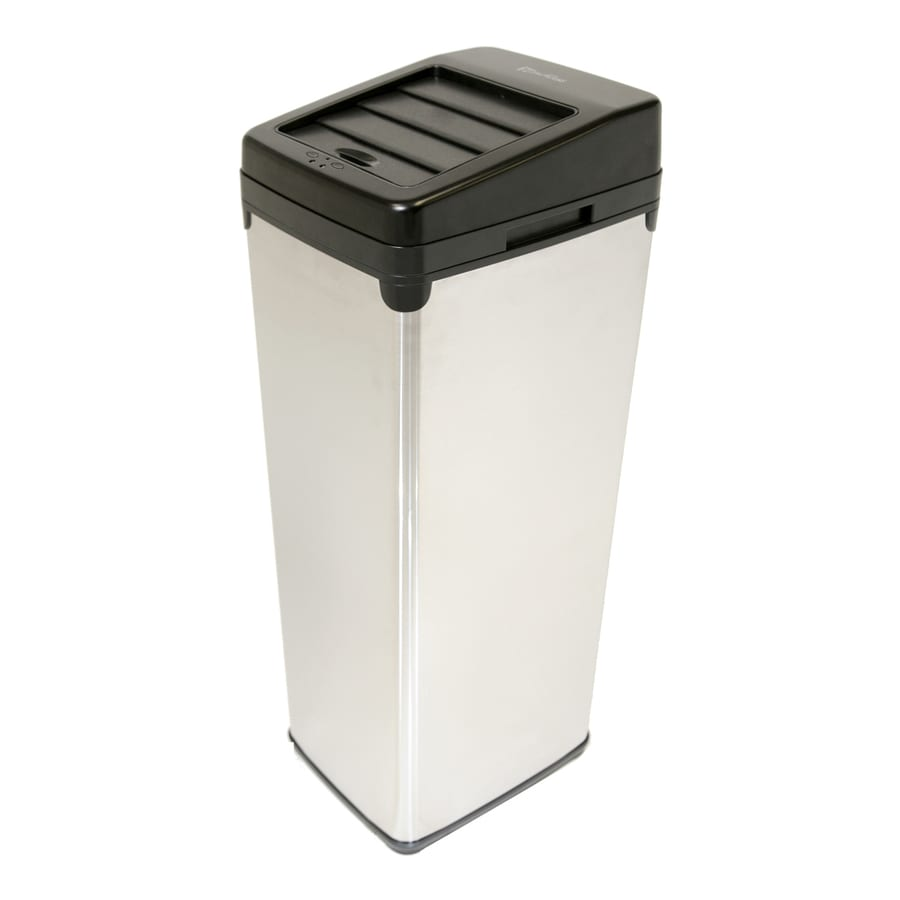 ITouchless 14 Gallon Stainless Steel Indoor Garbage Can