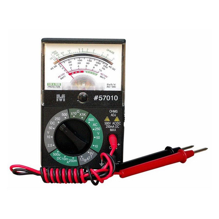 Morris Products Analog Multimeter Meter