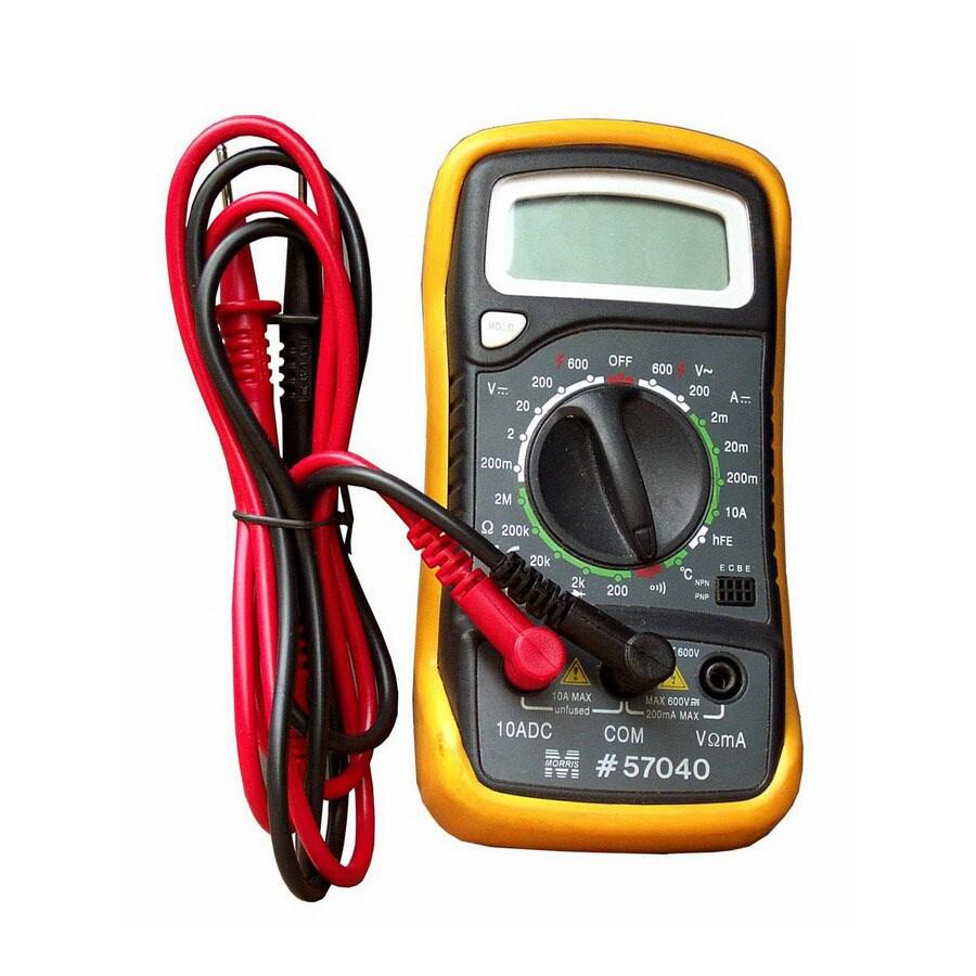 Morris Products Digital 600-Volt Multimeter