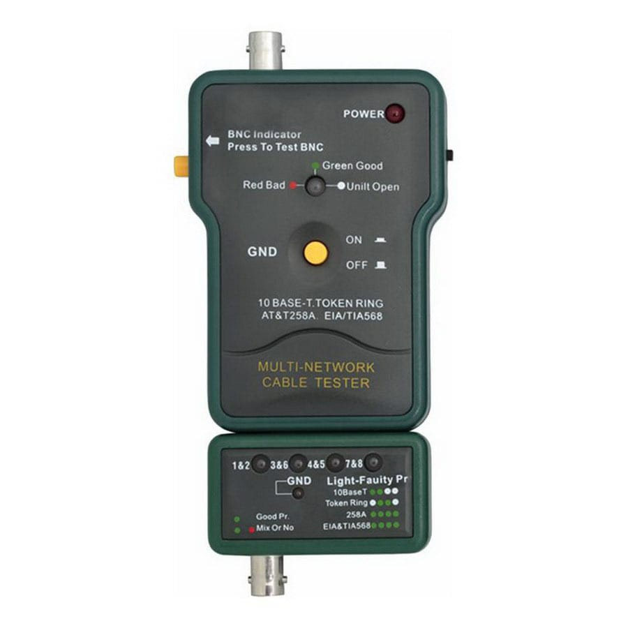 multi network cable tester with pin out indicator  multi