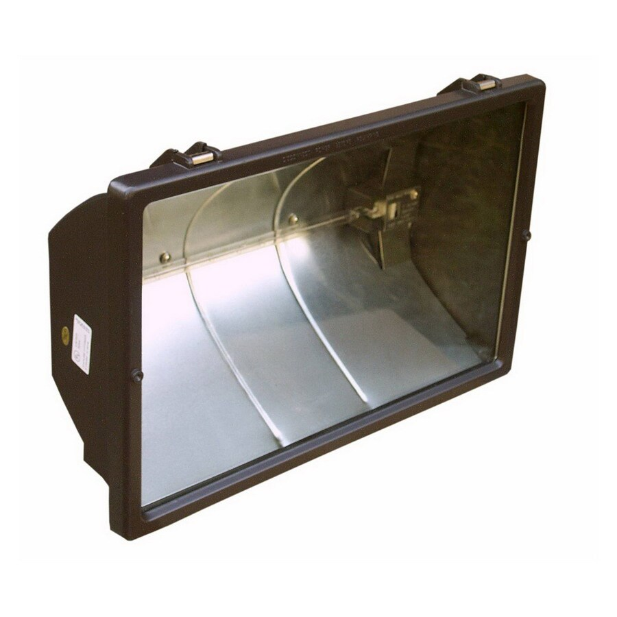 Flood Light Without Switch : Morris products in head halogen bronze switch