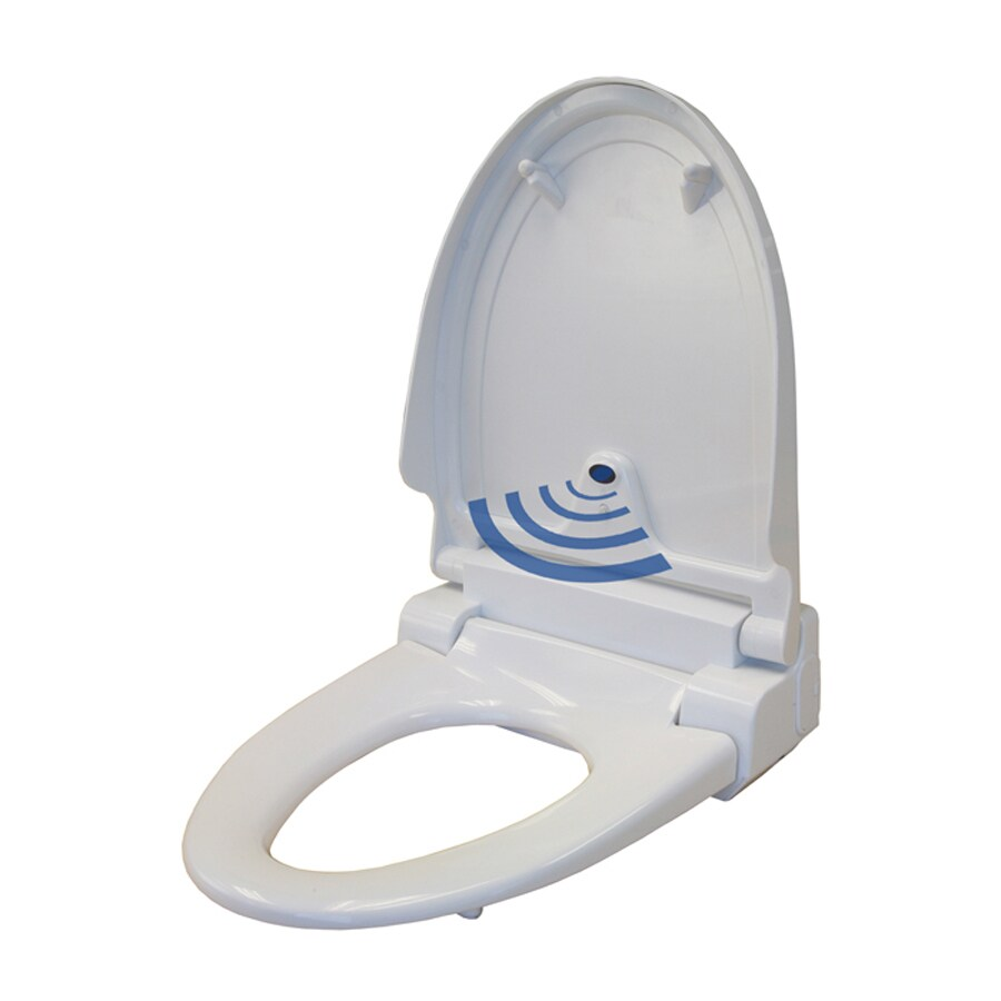 iTouchless Plastic Elongated Slow-Close Toilet Seat