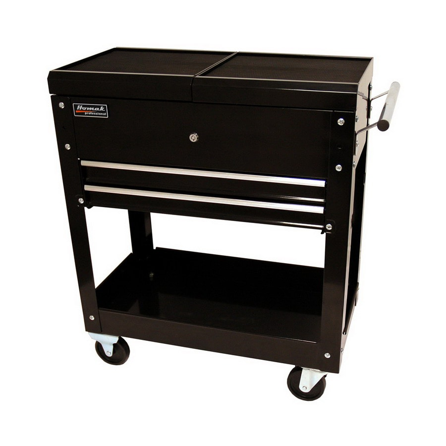Shop Homak 30 In 2 Drawer Utility Cart At