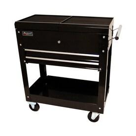 homak 30 in 2 drawer utility cart - Rolling Utility Cart
