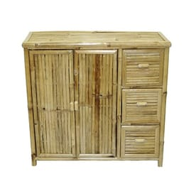 Bamboo 54 Natural Office Cabinet