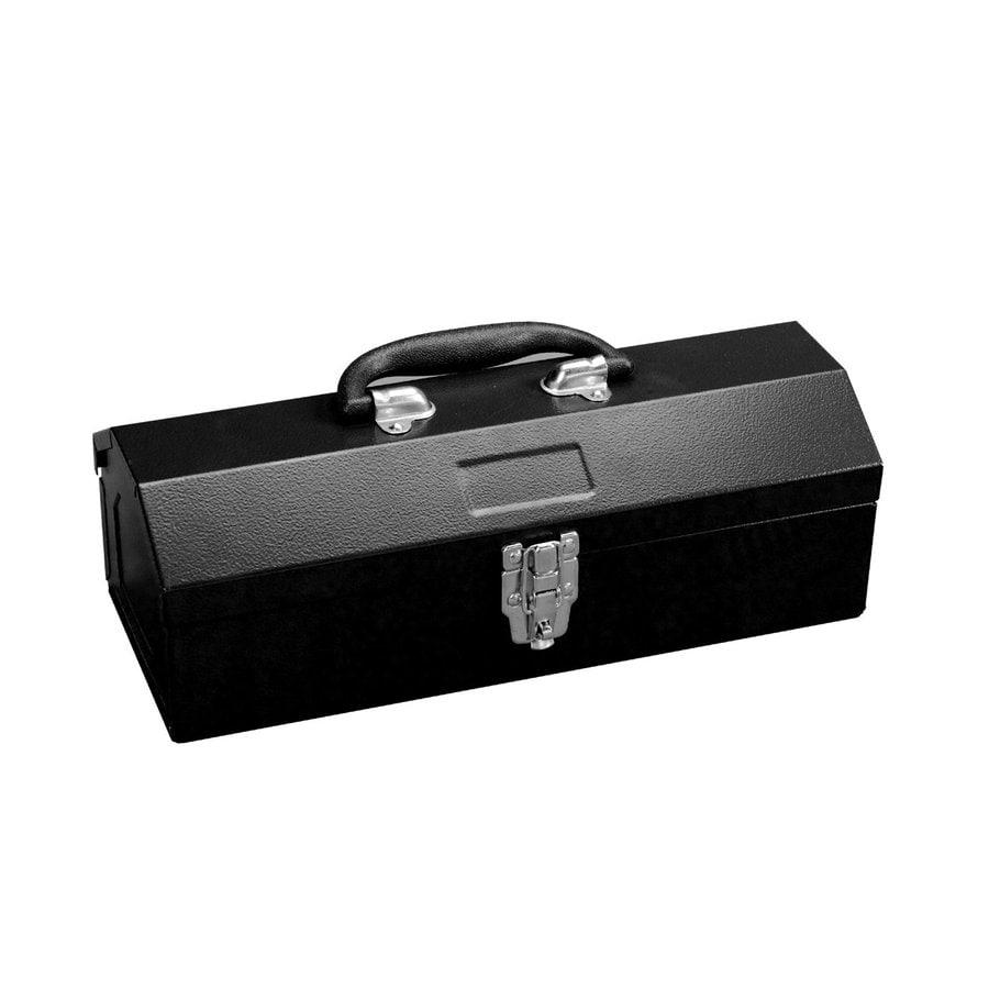Excel 14.2-in Black Steel Lockable Tool Box