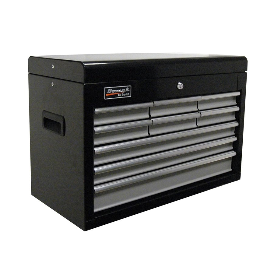 Homak SE 18.75-in x 26-in 9-Drawer Ball-Bearing Steel Tool Chest (Black)