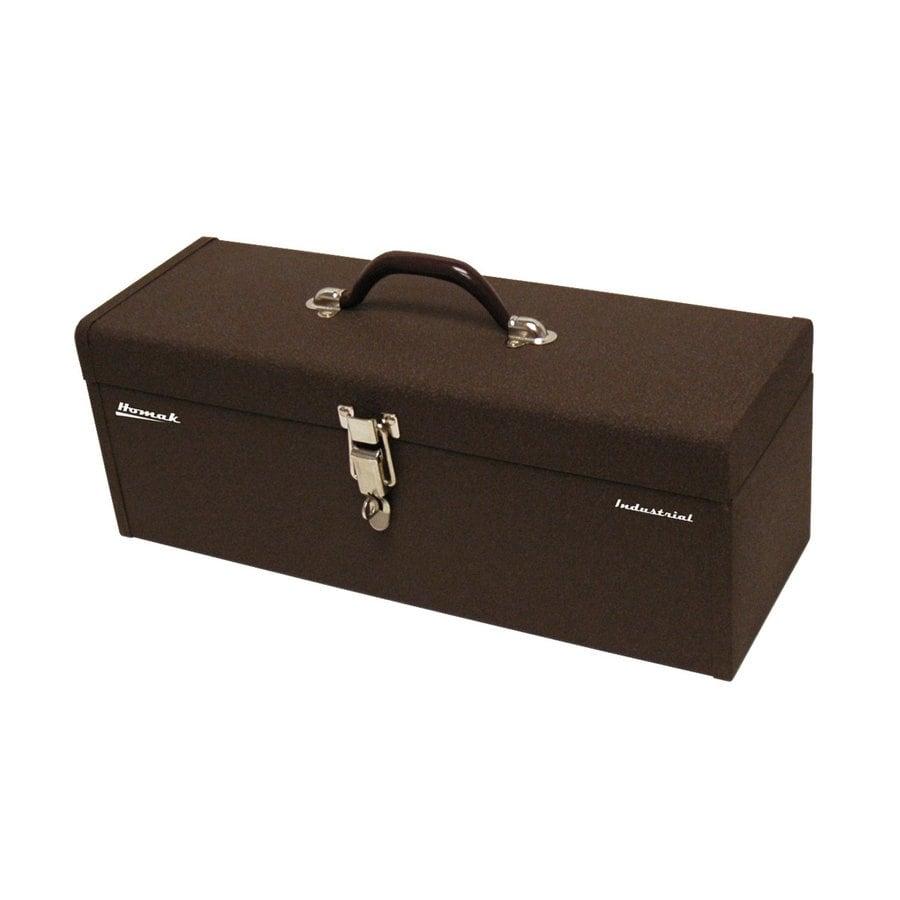Homak 20-in Brown Steel Lockable Tool Box