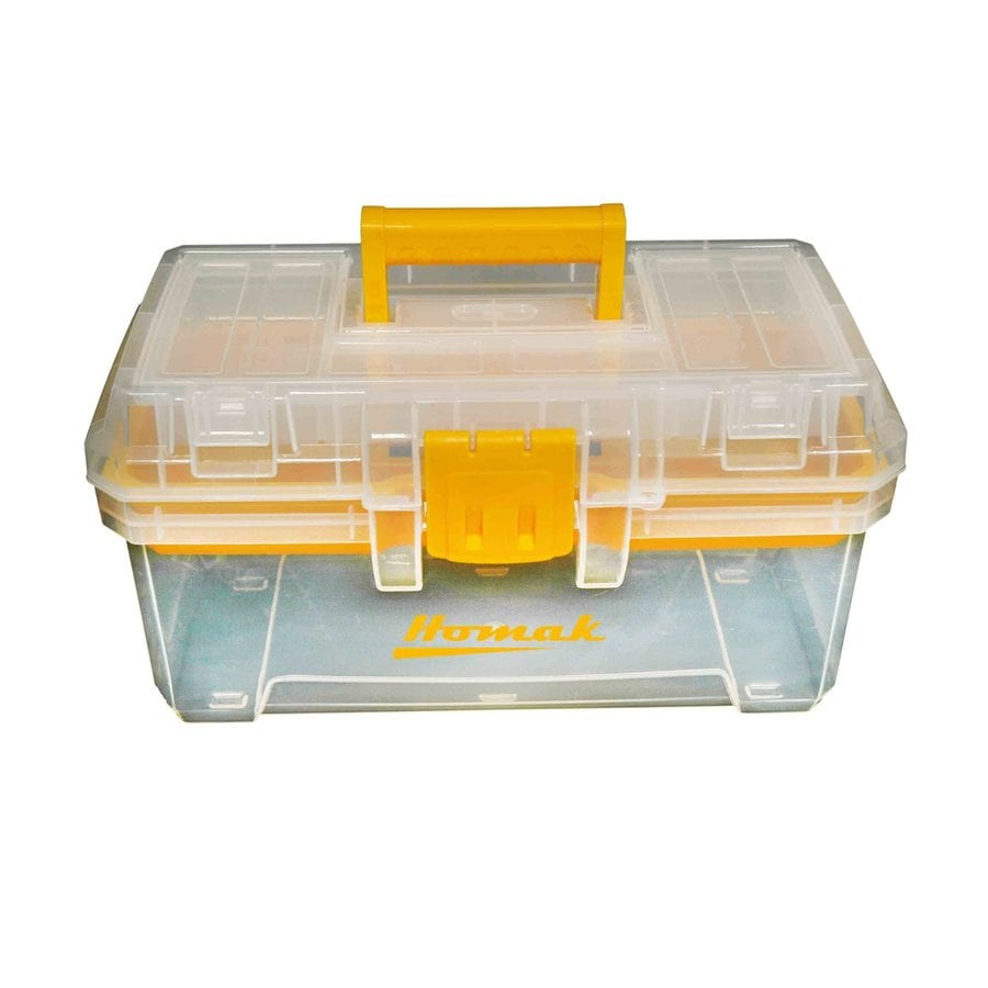homak 155in clear plastic lockable tool box - Lockable Storage Box