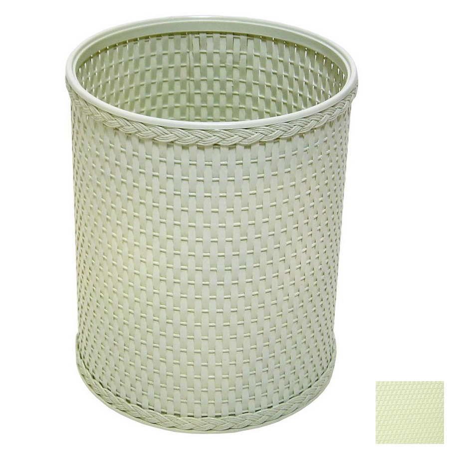 Redmon Chelsea Herbal Green Mixed Material Wastebasket