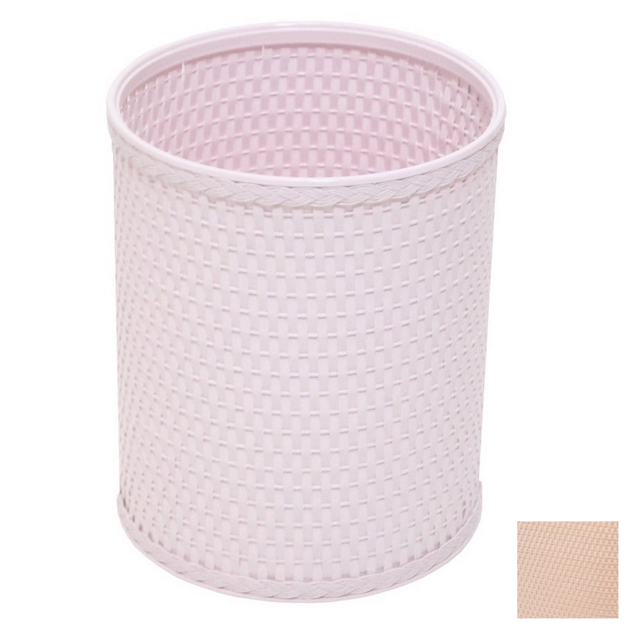 Redmon Chelsea Tea Rose Mixed Material Wastebasket