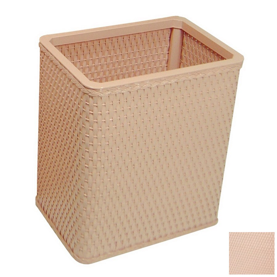 Redmon Chelsea Tea Rose Mixed Material Wastebasket