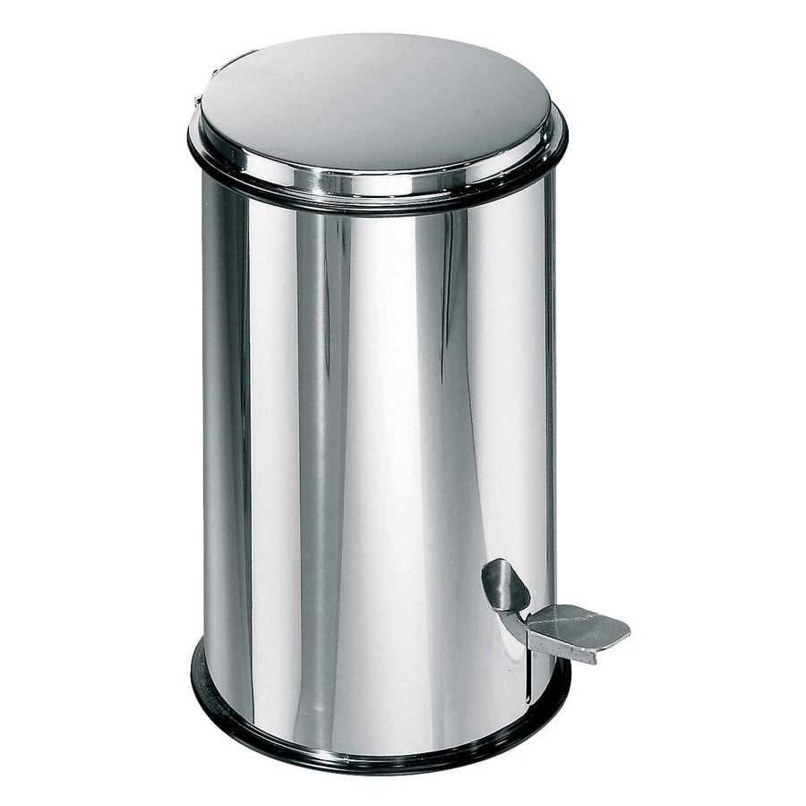 WS Bath Collections WS Bath Collections Basket 5347 Stainless Steel 20gal Complements Wastebasket