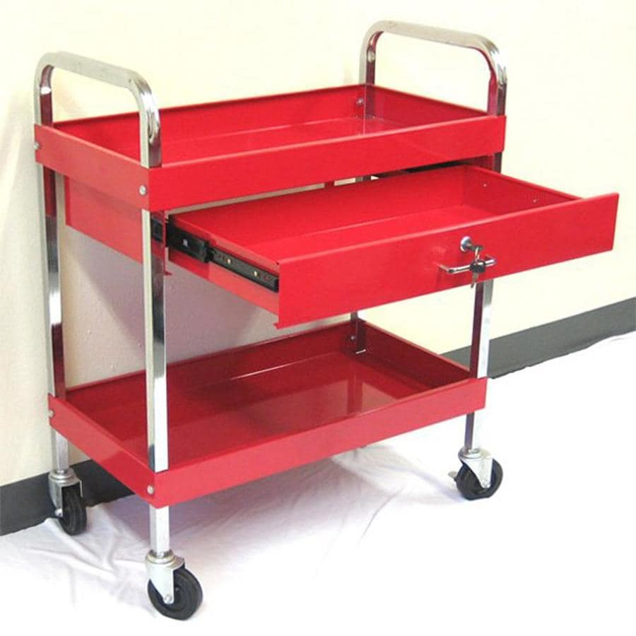 Excel 37.1-in 1-Drawer Utility Cart
