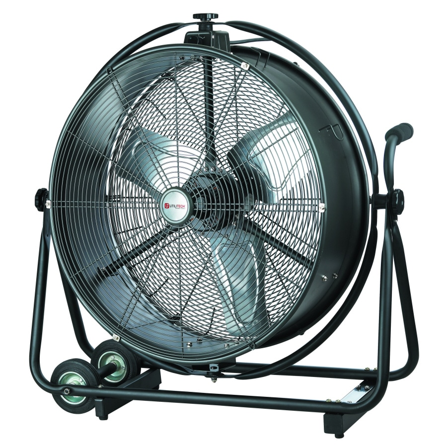 Utilitech 24 In 2 Speed Indoor High Velocity Fan At Lowes Com