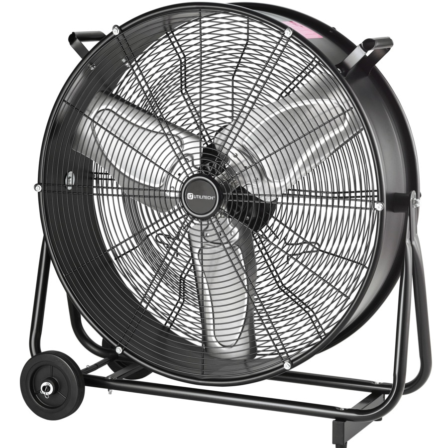 Utilitech Pro 24 In 2 Speed High Velocity Fan At Lowes Com