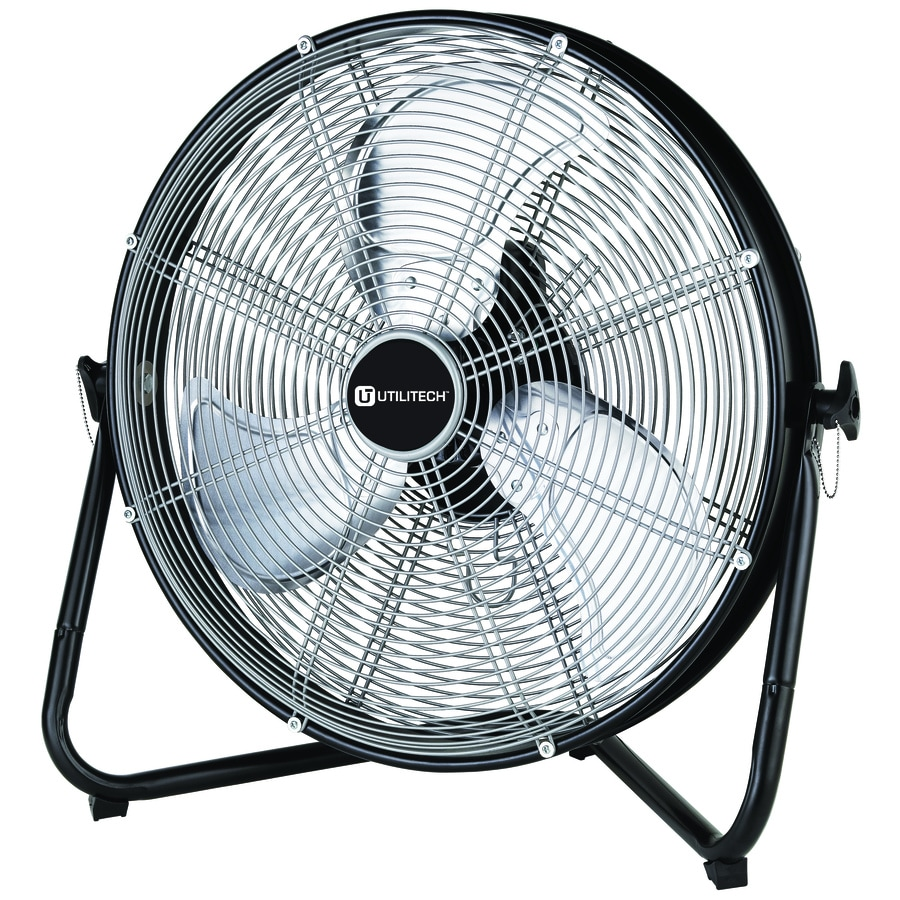 Utilitech Pro 20-in 3-Speed High Velocity Fan