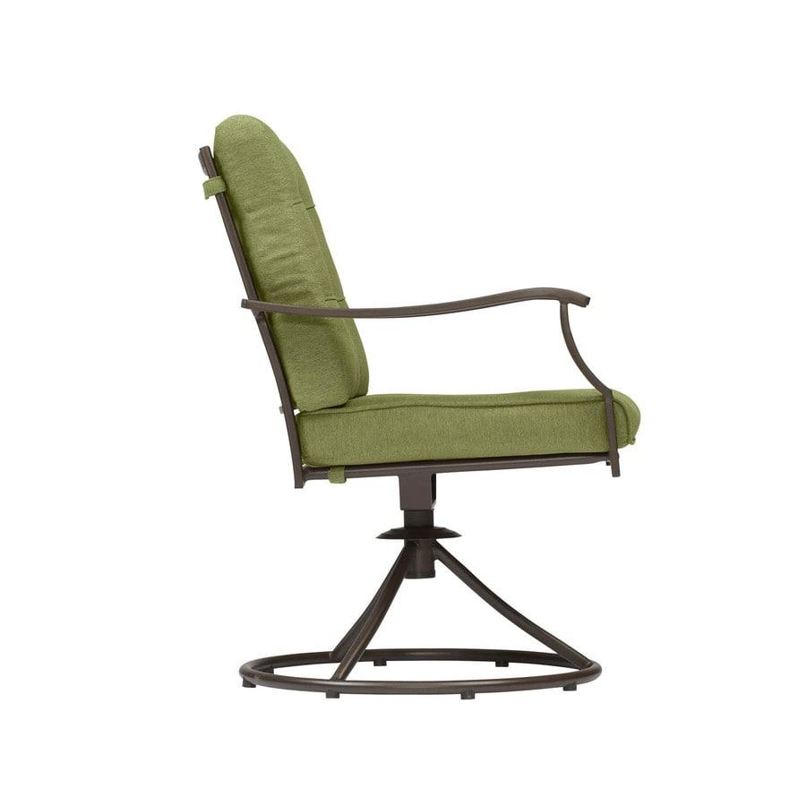 Garden Treasures Set Of 2 Eastmoreland Textured Brown Seat ...