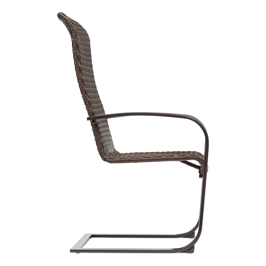 Garden Treasures Folcroft 6-Count Brown Wicker Spring Motion Patio Dining  Chairs - Shop Patio Chairs At Lowes.com