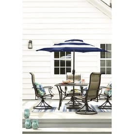 Garden Treasures Skytop Square Dining Table 42 In W X 42