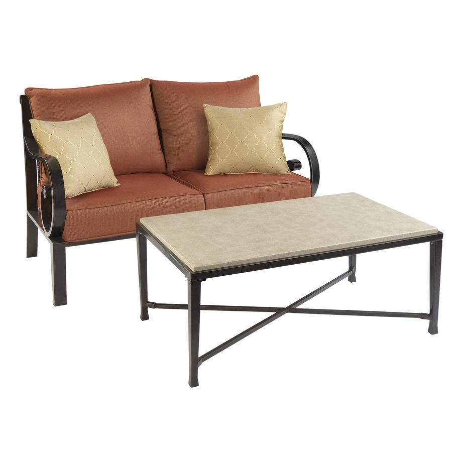allen + roth Loveseat and Coffee Table
