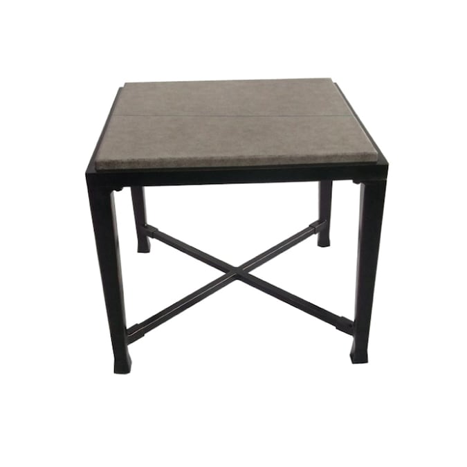 Allen Roth Pardini Square End Table In The Patio Tables Department At Lowes Com