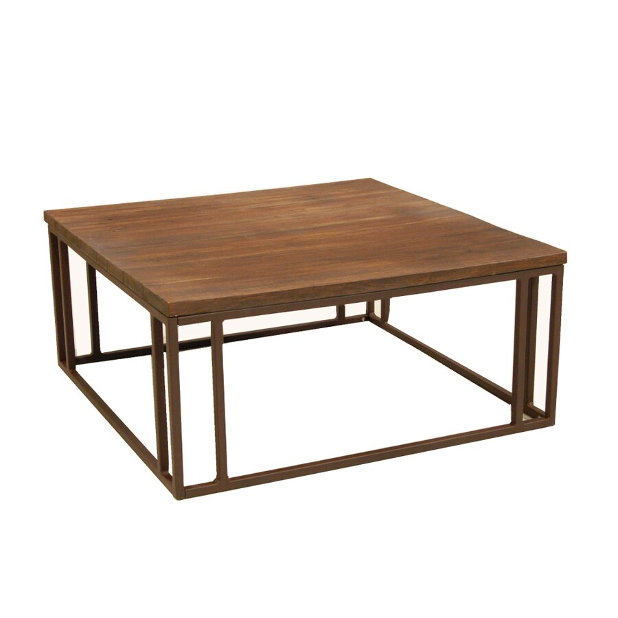 Shop Allen Roth Belanore Square Coffee Table At
