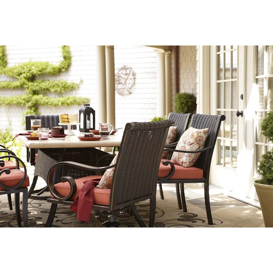 Delicieux Allen + Roth Pardini Patio Dining Chair