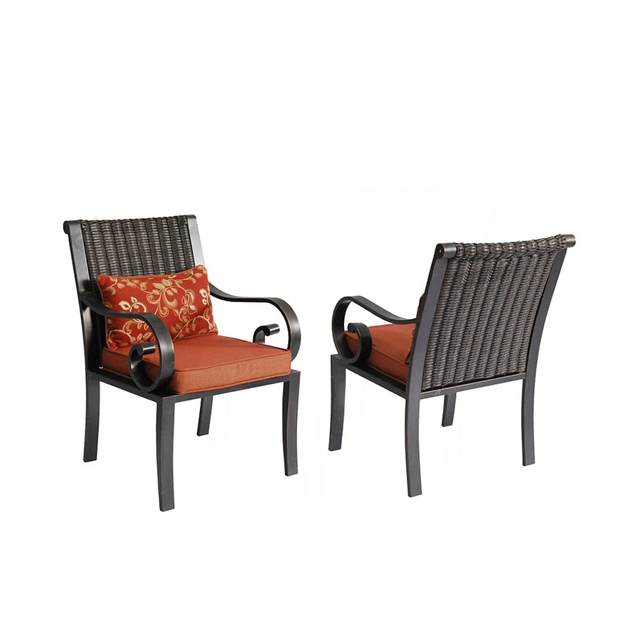 Oil Rubbed Bronze Chairs ~ Shop allen roth set of pardini oil rubbed bronze seat