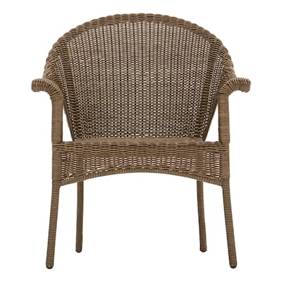 Fine Valleydale Woven Stackable Metal Stationary Conversation Chair S With Woven Seat Ocoug Best Dining Table And Chair Ideas Images Ocougorg