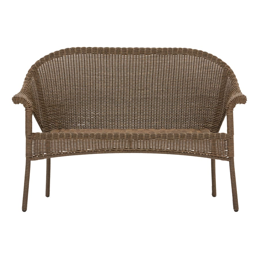 Garden Treasures Valleydale Woven Outdoor Loveseat With