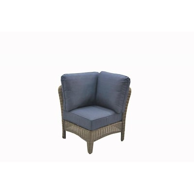 Wondrous Bellmare Woven Metal Stationary Conversation Chair S With Blue Woven Seat Squirreltailoven Fun Painted Chair Ideas Images Squirreltailovenorg