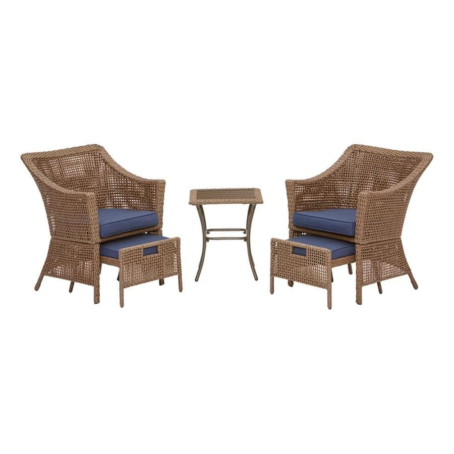 Display product reviews for Bay Garden 5-Piece Steel Frame Patio Conversation Set  sc 1 st  Loweu0027s & Shop Patio Furniture Sets at Lowes.com