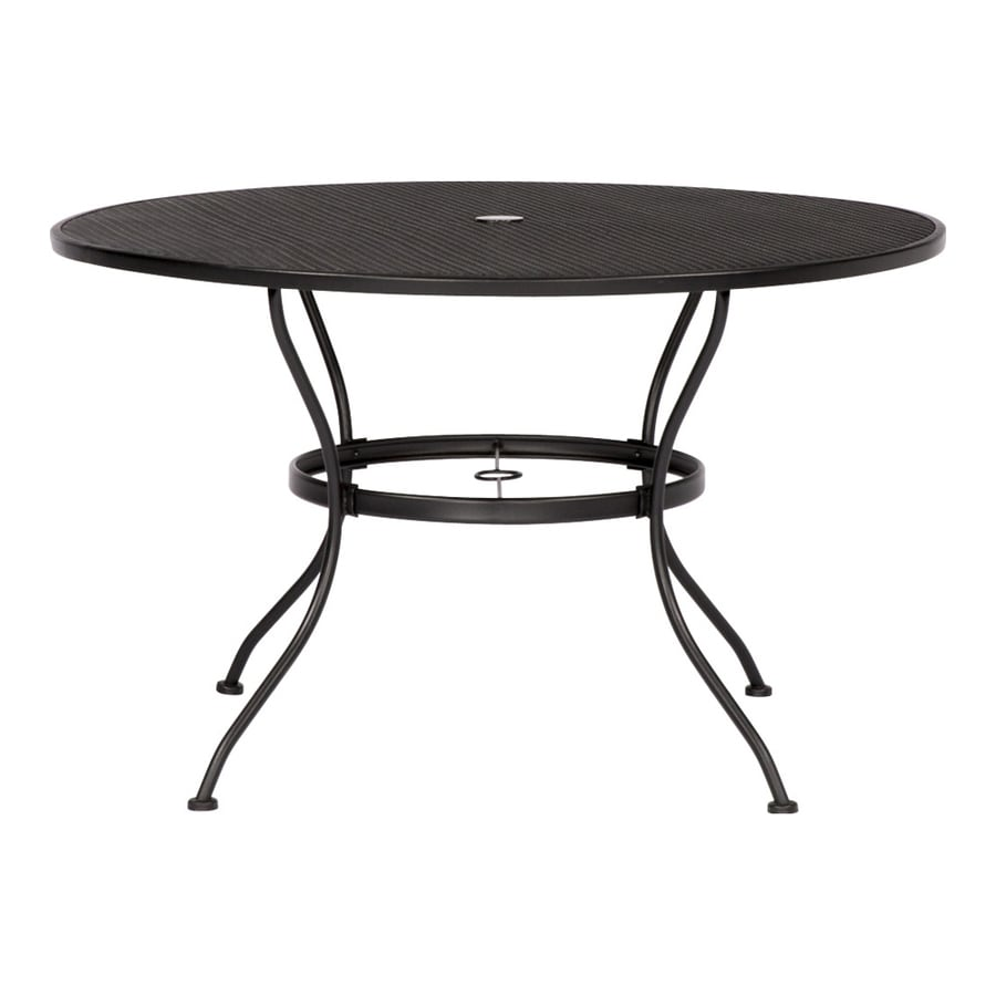 Garden Treasures Davenport Round Dining Table 45 In W X 45