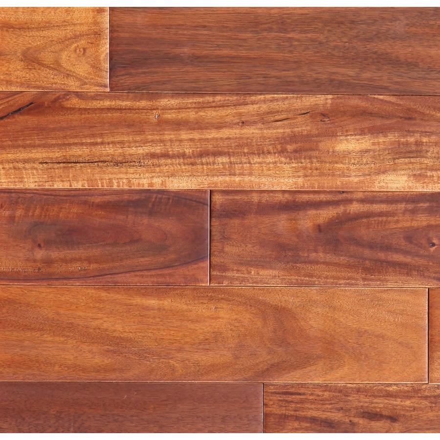 easoon Exotic Diy 3.5-in W Prefinished Acacia Locking Hardwood Flooring (Amber)